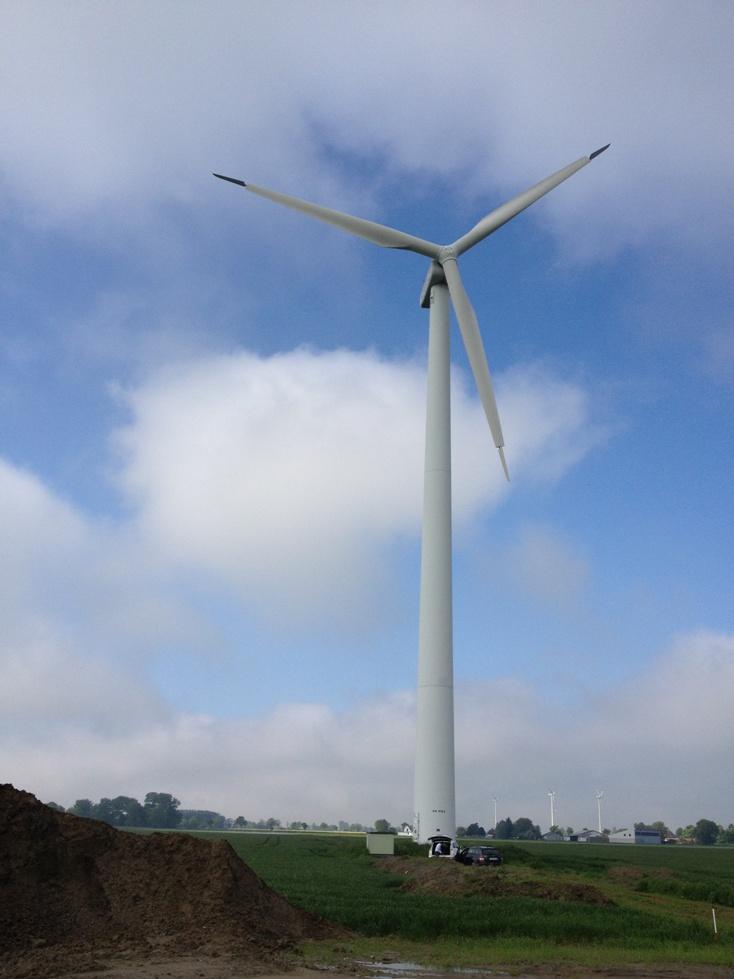 Nordex Rüzgar Türbini İkinci El