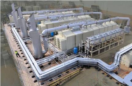 MAN 24 MW HFO Elektrik Üretim tesisi