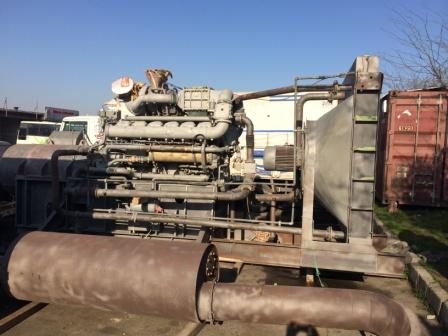 MTU 1350 kVA Dizel Jeneratör