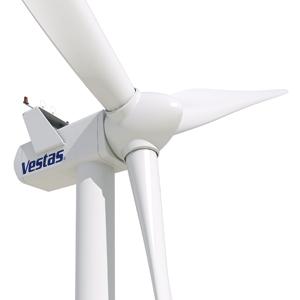2 MW Rüzgar Türbini Class 3 Yeni 2009 Model